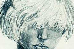 Debbie Harry - graphite on paper