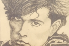 Tom Bailey - graphite on paper