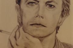 David Bowie - graphite on paper
