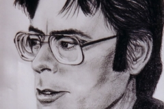 Stephen King - graphite on paper