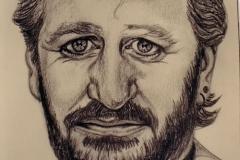Ringo Starr - graphite on paper