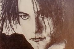 Robert Smith - graphite on paper