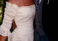 Wedding dress, front - photo