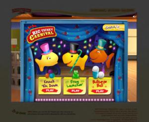 Final Art - Goldfish Carnival main screen