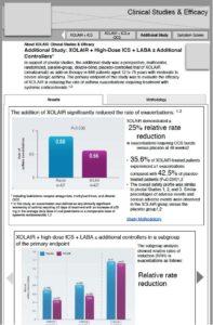Xolair Clinical Studies - desktop